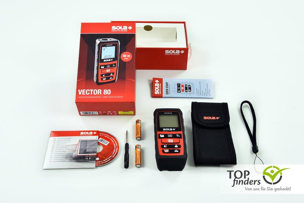 Laser Entfernungsmesser Kaufberatung : Laser entfernungsmesser sola vector 80